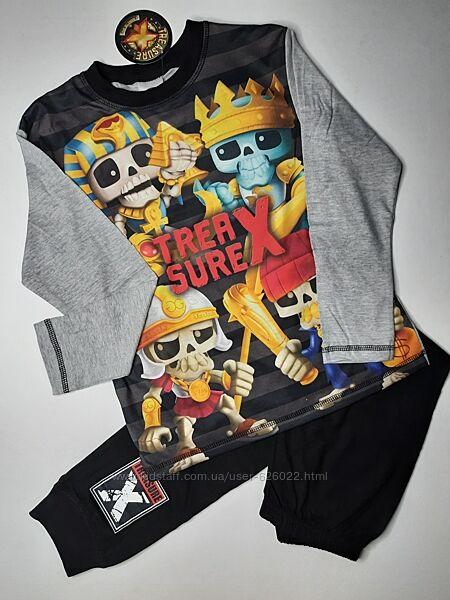 Пижама на мальчика Treasure комплект 128 7-8 лет Disney піжама на хлопчика