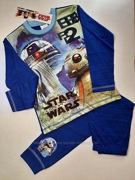 Пижама на мальчика Star wars комплект набор 116 5-6 лет Disney піжама набір