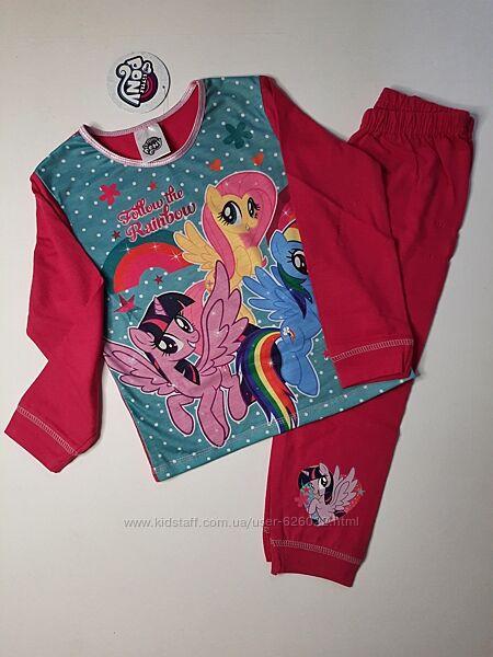 Пижама на девочку пони my little pony 98 2-3 года Disney піжама набір