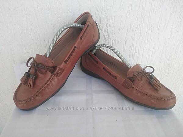 Кожанние туфли, мокасини Footglove р. 37.5