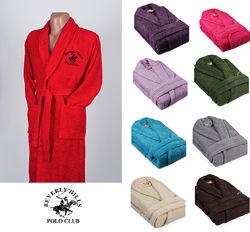 Халат махровий Beverly Hills Polo Club 355BHPC1711 red - різні розміри