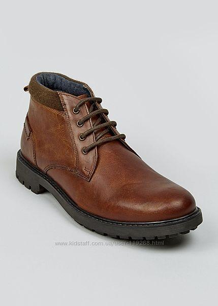 Мужские теплые зимние ботинки Matalan 30,5 см