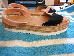 Кожаные сандалии Испания 23 см по стельке