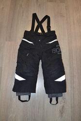 Зимние штаны-полукомбинезон ф. Didriksons р. 90 см 2-3 года