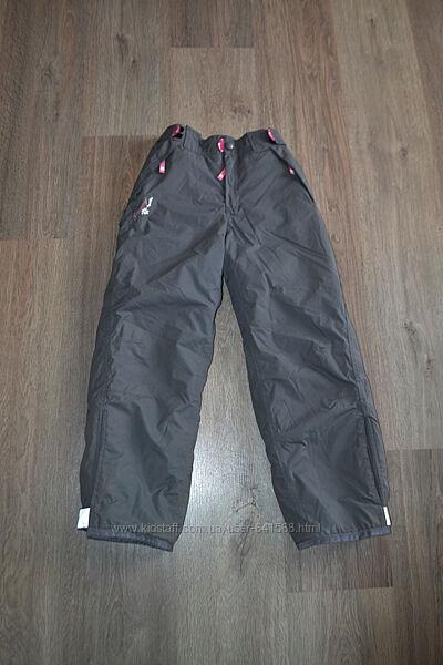 Зимние лыжные штаны ф. TCM Tchibo р. 122-128 см в новом состоянии