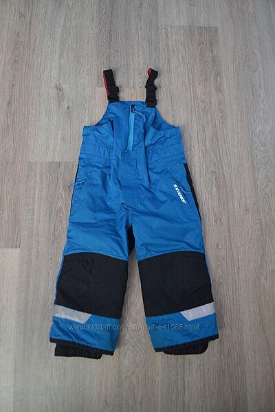 Зимние штаны-полукомбинезон ф. Everest оригинал р. 92 см 2-3 года