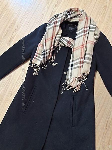 Стильное пальто, классика, Marks & Spencer