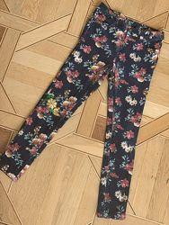 Штаны вельвет LC Waikiki slim skin, 10-11 лет, 140-146 см цветы