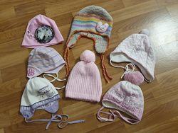 Продам шапки для девочки все сезоны