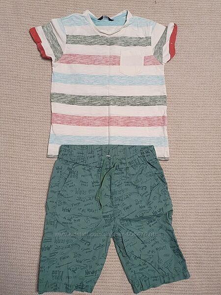 Футболки George, шорты Chicco, H&M