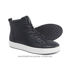 Ессо стильные кожаные ботинки хайтопы 39р Оригинал