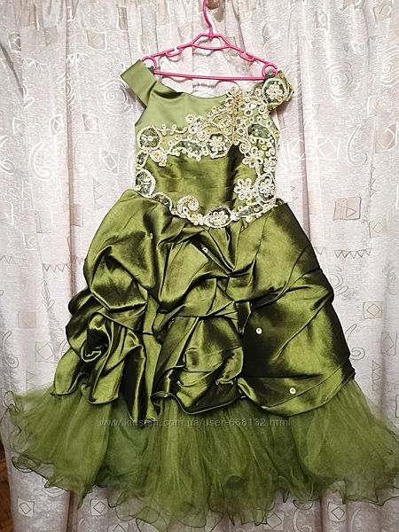Платье праздничное нарядное для девочки