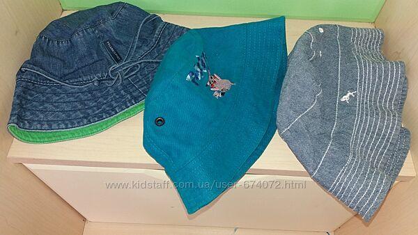 Панамка 1 - 3 годика кепка для мальчика джинсовая