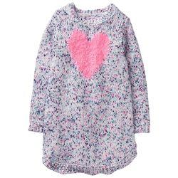 Красивое качественное вязанное платье с сердцем Gymboree XL 14 р. 152-158