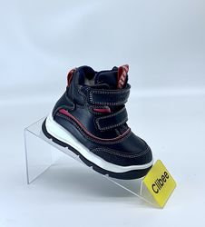 Зимние ботинки сапожки мальчику фирмы clibee, польша рр. 22 23 24 25 26 27