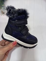 Новинка зимние ботинки для девочки фирмы clibee. зимові черевики рр. 21 22