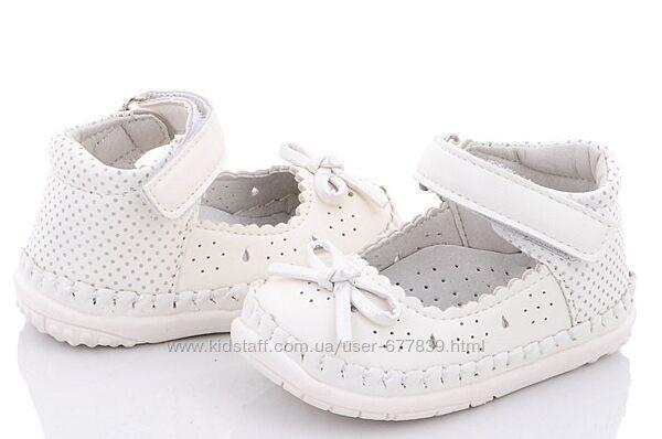Пинетки-туфли бренда clibee для девочек рр. 17 18 19 20 польша