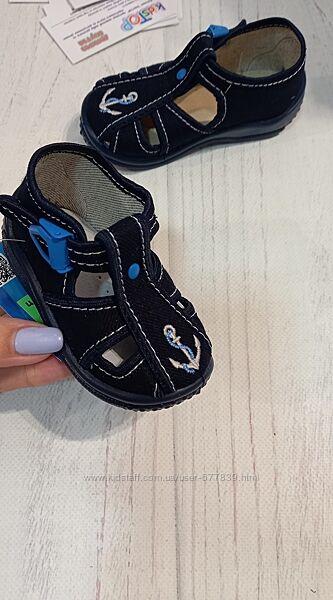 Детские тапочки-мокасины от фирмы zetpol, польша. рр.18 19 20 21 22 23 24 2