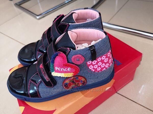 Очень крутые кожанные деми ботинки Agatha Ruiz De La Prada Garvalin 25.
