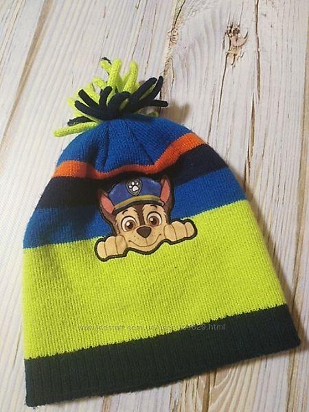Демисезонная шапка для мальчика Щенячий патруль