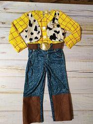 Карнавальный костюм с истории игрушек Вудди шериф
