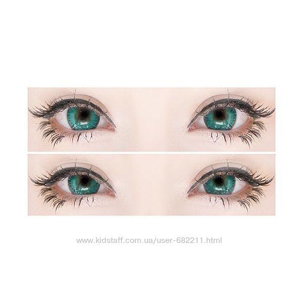 Уценка. Цветные контактные линзы для примерки цвета.