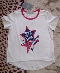 Стильные детские футболки рост 116
