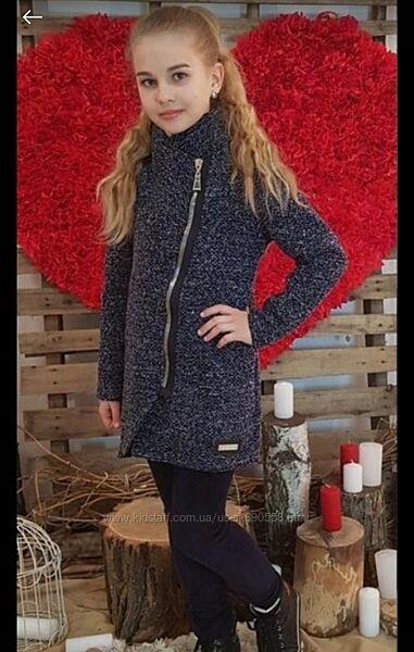 Пальто букле для девочки.