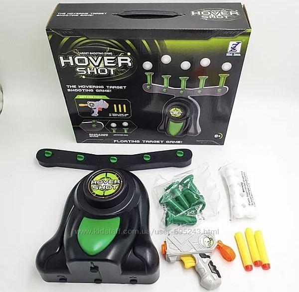 Игра Hover Shot Воздушный Тир Пистолет С Дротиками И Мишени