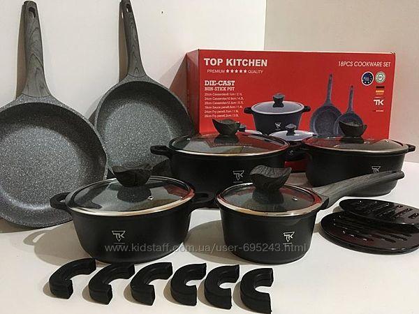 Набор Посуды TK-00022 Набор Посуды 18 Предметов Top Kitchen