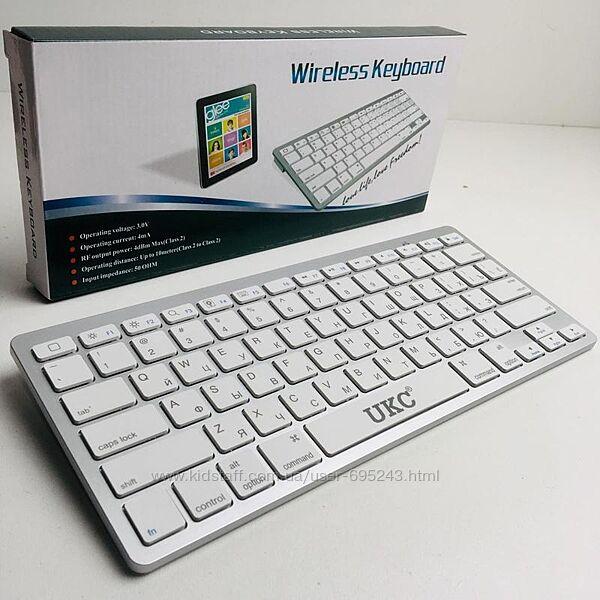 Беспроводная Bluetooth Клавиатура Keyboard UKC BK 3001 X5
