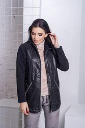 42 два цвета Куртка демисезонная женская Невада код294
