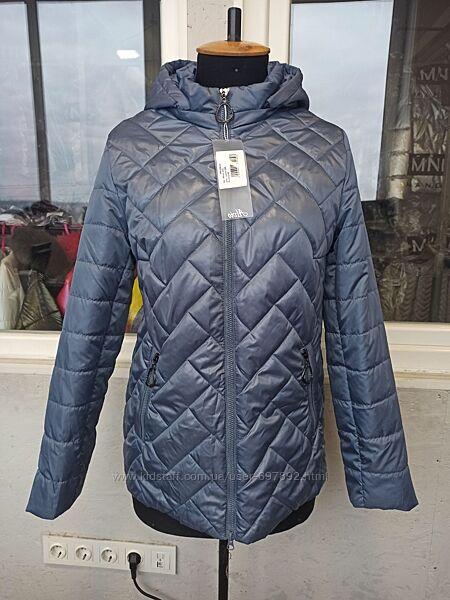 р.48-58 Стильная женская деми куртка курточка код233