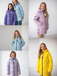 р.116-152 28-40 Шикарная деми куртка курточка удлиненная Милена