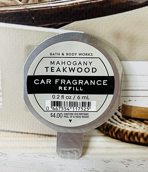 США Автомобильные запахи BATH and BODY WORKS
