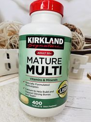 США Витамины и минералы для людей старше 50 лет KIRKLAND