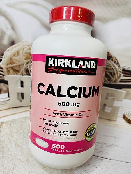 США Кальций и витамин D3 от KIRKLAND