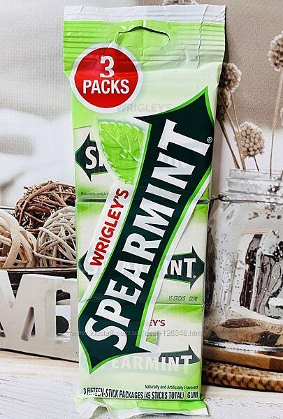 США Жвачки без сахара WRIGLEY&acuteS Doublemint, Spearmint, Big Red