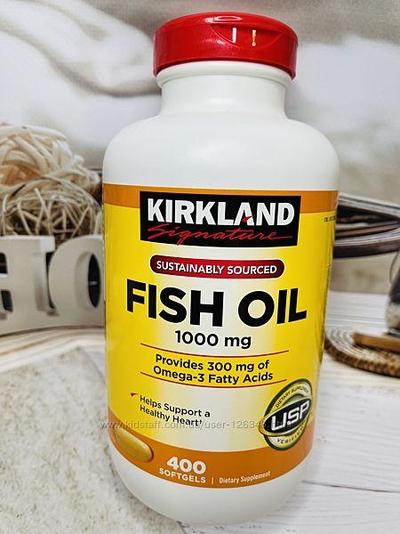 США Рыбий жир KIRKLAND Fish Oil
