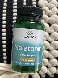 США Капсулы для хорошего сна мелатонин Swanson Melatonin