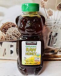США Органический чистый мед KIRKLAND Organic Raw Honey