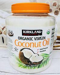 США Кокосовое органическое масло KIRKLAND Coconut Oil