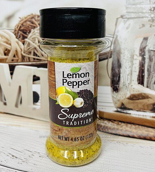 США Молотый перец с лимоном Supreme Lemon Pepper