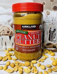 США Арахисовая паста органическая кремовая KIRKLAND Organic Creamy Peanut
