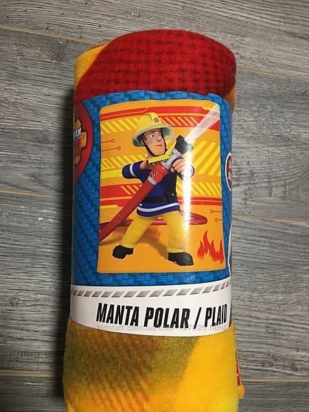Fireman sam by lidl испания флисовый плед принт пожарный сэм