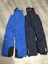 Crivit pro лыжные термо штаны полукомбинезон