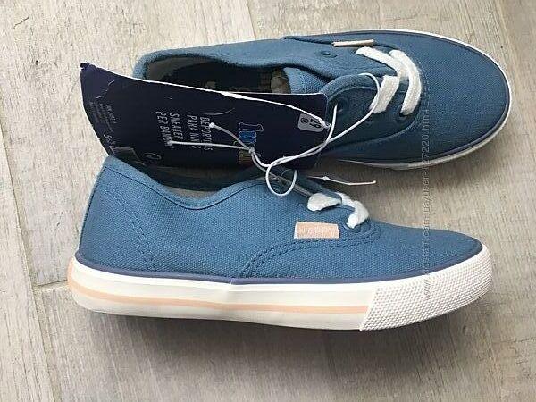 размеры 26-29 Испания кеды мокасины слипоны туфли lupilu