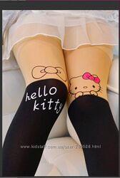 Колготки ботфорды с китти Hello Kitty
