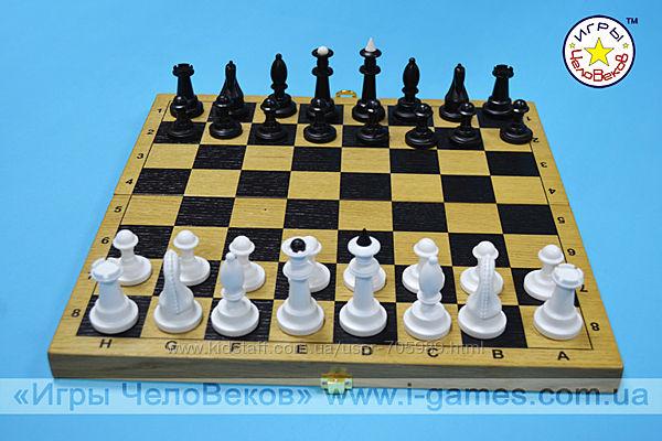 Шахматы  шашки набор 2 в 1