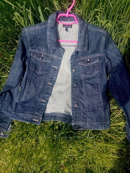 Куртка джинсовая женская М